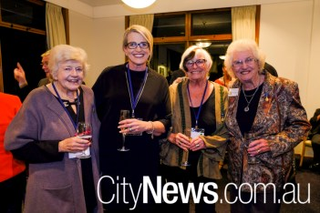 Louise Blue, Meg Brighton, Sue Healy and Narelle Hargreaves
