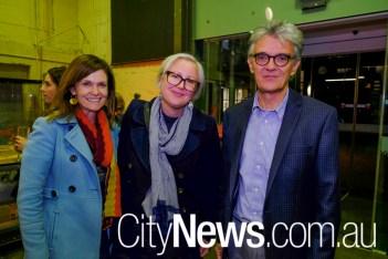 Rachael Coghlan, Kate Nixon and Philip Leeson