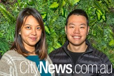 Chantelle Low and Justin Wong