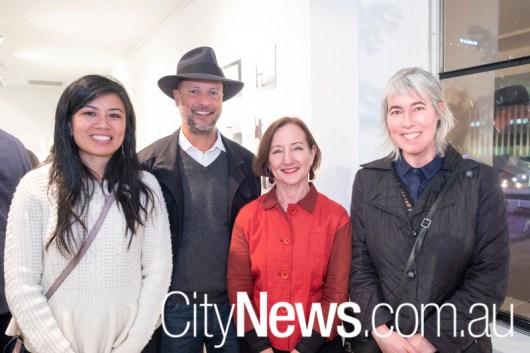 Bic Tieu, Chris Wanderwall, Julie Bartholomew and Zoe Veness