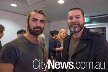 Robert Agostino and David Flannagan