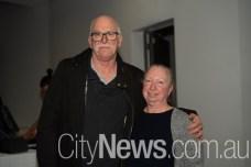 Greg Lowe and Marina Thompson