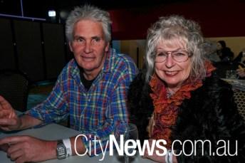 Warren Rae and Jenny Tyke