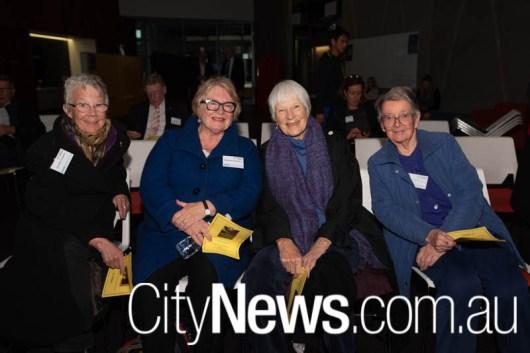 Caroline Lemerle, Barbara Chambers, Margaret Bearlin and Judith Bailey