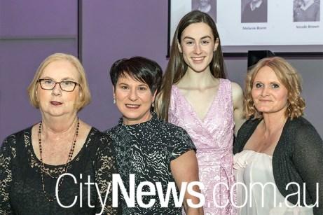Chrisitne Collins, Ros Parisi, Olivia Miles and Susan Anderson