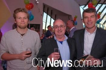 Dan Fenderson, Paul Stewart and Bob Fenderson