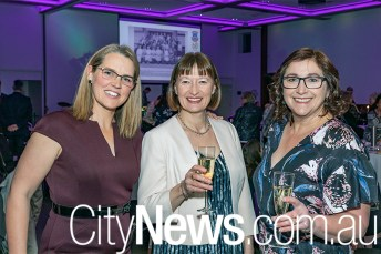 Peita-Claire Fothergill, Laura Pearce and Liza Laird