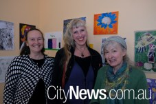 Anne McMahon, Monika McInerney and Jenelle Outhwaite