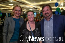 Lisa Keeling, Mary-Ellen Henshall and Eric Thauvette