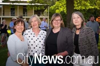 Catherine Keirnan, Kate Gullett, Suzanne Orr MLA and Maxine Cooper