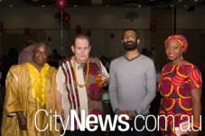 Ebenezer Banful, Gary Bradley, Vivek Gupta and Dzisfa Wallace