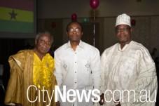 Ebenezer Banful, Tetteh Dugbaza and Joseph Delle