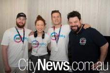 Grady Meagher, Kristen Davidson, Dan Duranti and Nige Johnson