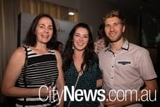 Jess Rossiter, Natalie Lyneh and Anton Sasson