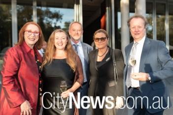 Rosalind Croucher, Pauline Wright, Murray Hawkins, Chrissa Loukas-Karlsson and David Neal