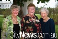 Joan Gare, Joan Crook and Marcia Fife