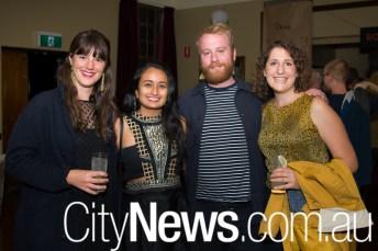 Hannah Ekers, Maya Shah, Brenton Penny and Hannah Green