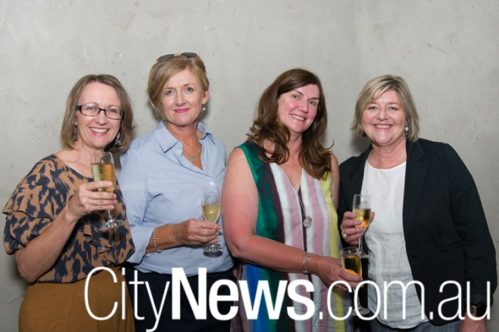 Michele Foley, Paula Sharp, Mandy Jensen and Clare Smith