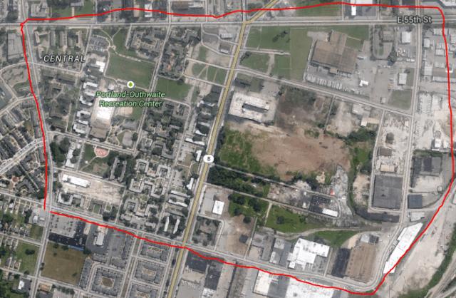 cleveland google maps
