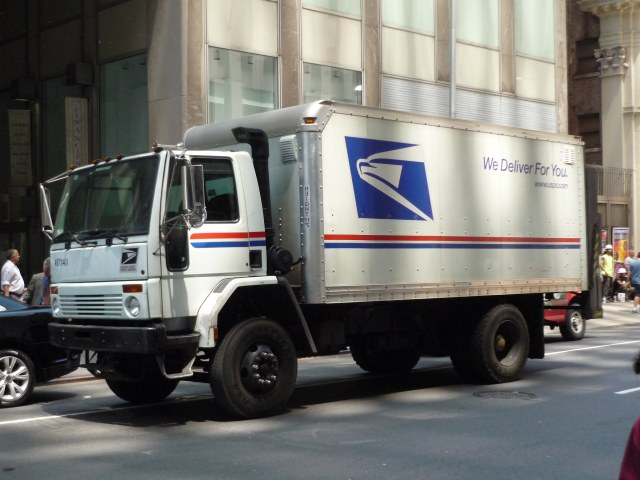 Delivering packages and reducing urban traffic congestion! Credit: Jason Lawrence, Flickr