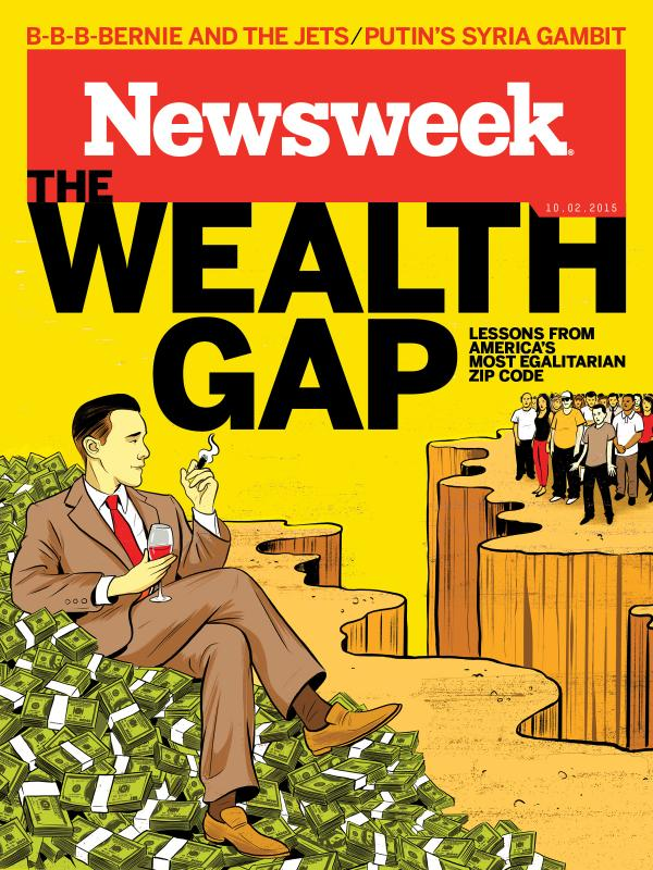 The Newsweek cover.