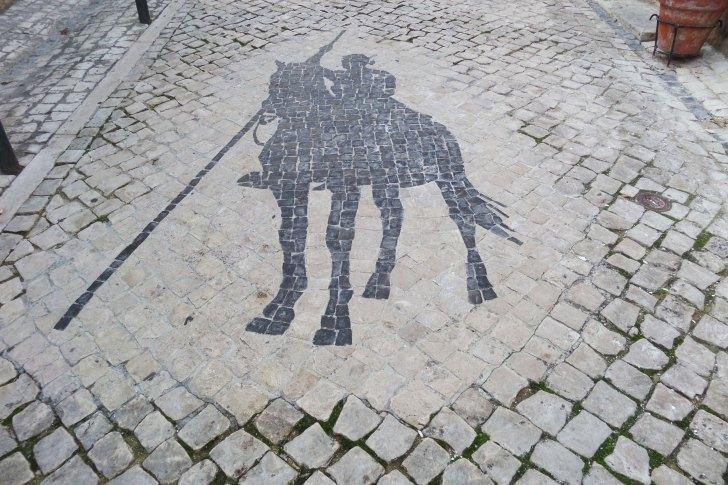 Calçada Vila Franca de Xira