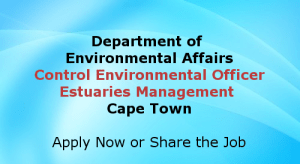 Control Environmental Officer Cape Town Jobs