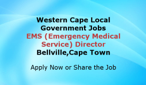 EMS-Director-Western-Cape-Government-Jobs