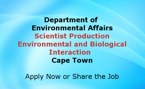 Scientist Production Environmental and Biological Interaction Cape Town Jobs