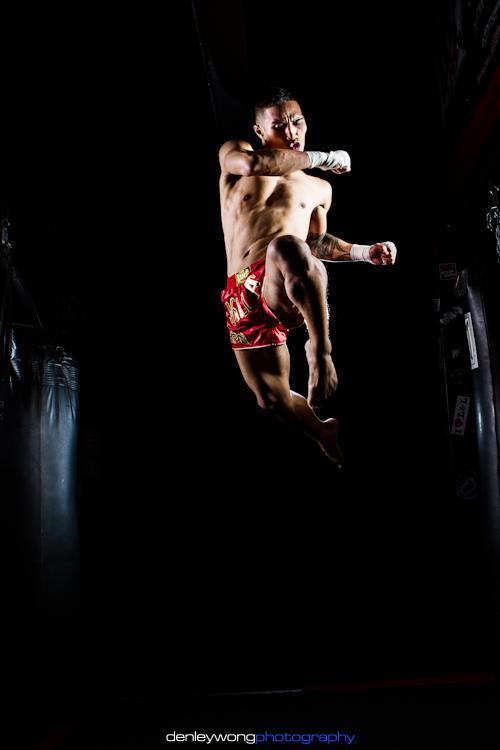 Adrian Flying knee