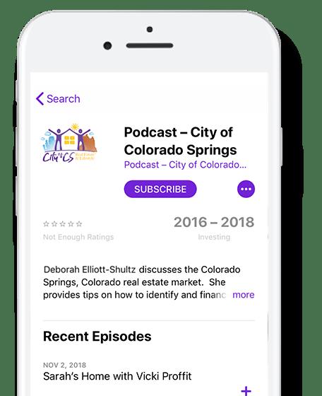 City of CS Radio Show on Podcast