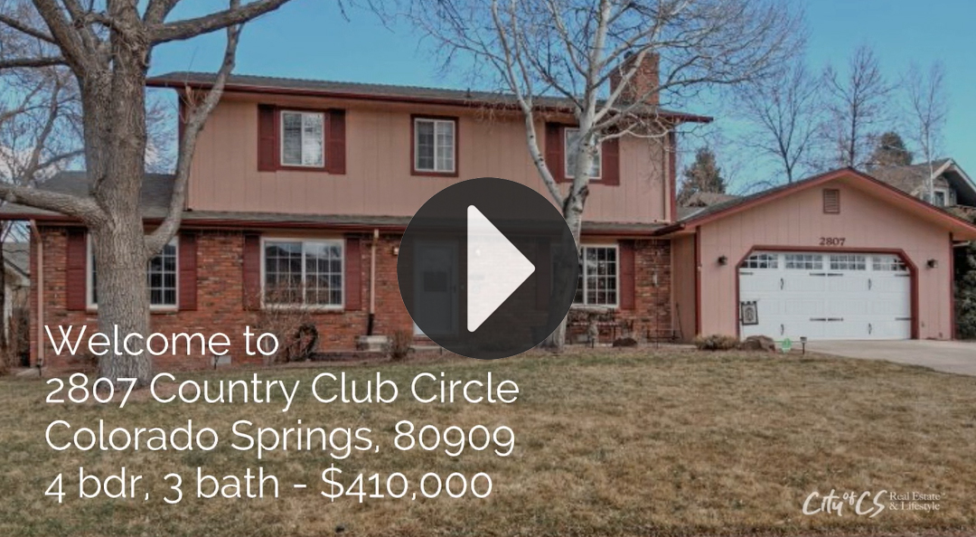 2807 Country Club Circle, Colorado Springs - Home for sale
