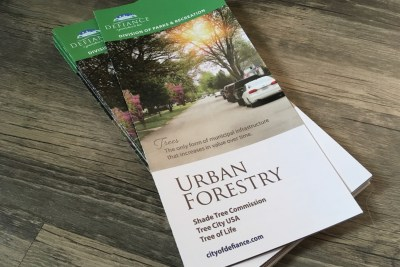 View/Download the City's Urban Forestry Brochure