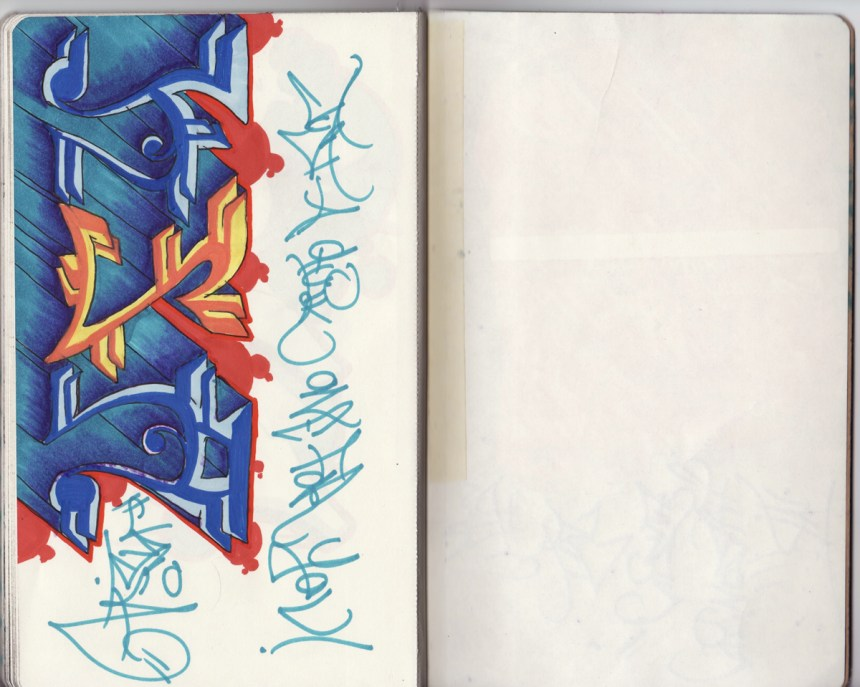 sketchbook project, chicago art artist, illustration, graffiti, ska, tek