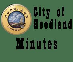 City of Goodland, KS, Minutes