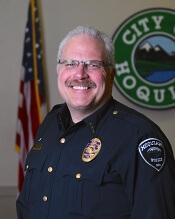 Hoquiam Chief of Police Jeff Myers