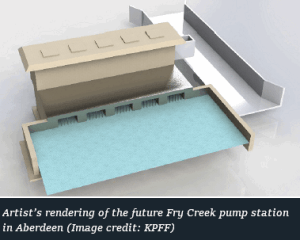 fry creek pump station rendering