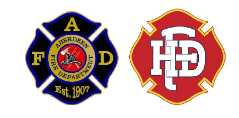 Aberdeen an Hoquiam Fire Department Logos