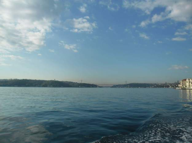 Crossing the Bosphorus by boat 01