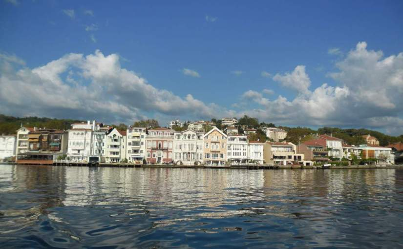 Crossing the Bosphorus by Boat