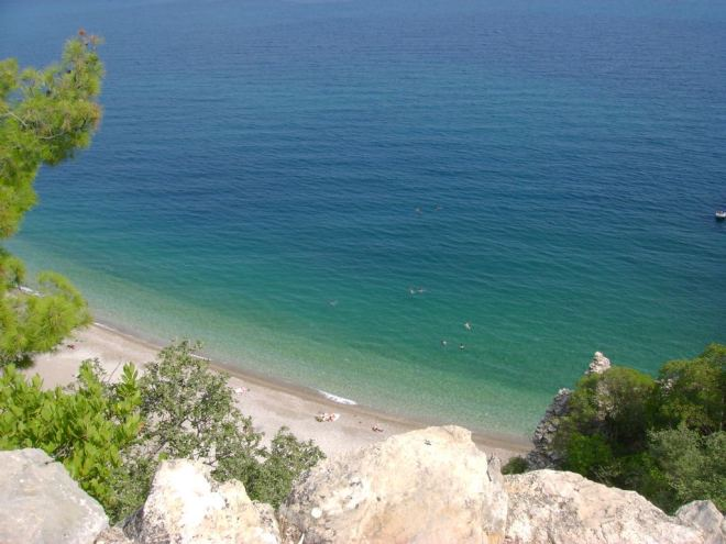 Olympos beach - Antalya, Turkey