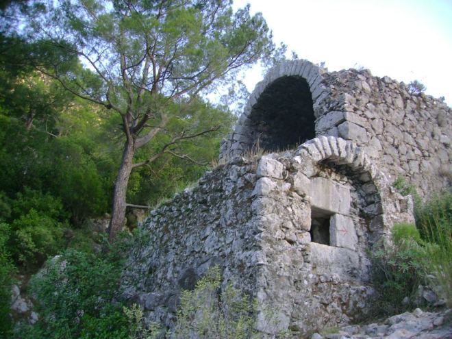 The ancient Lycian city of Olympos, Antalya, Turkey - 17