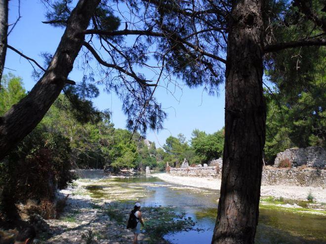 The ancient city of Olympos - 2012, Antalya, Turkey - 02