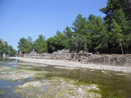 The ancient city of Olympos - 2012, Antalya, Turkey - 07