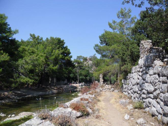 The ancient city of Olympos - 2012, Antalya, Turkey - 19