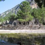 The ancient city of Olympos - 2012, Antalya, Turkey - 24