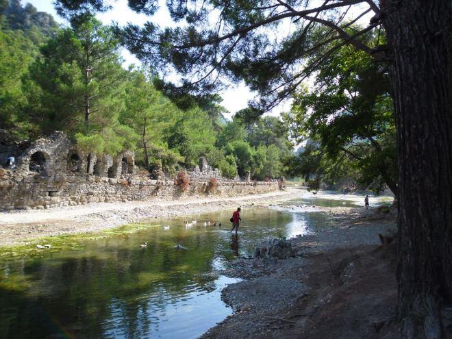 The ancient city of Olympos - 2012, Antalya, Turkey - 38