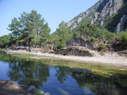 The ancient city of Olympos - 2012, Antalya, Turkey - 40