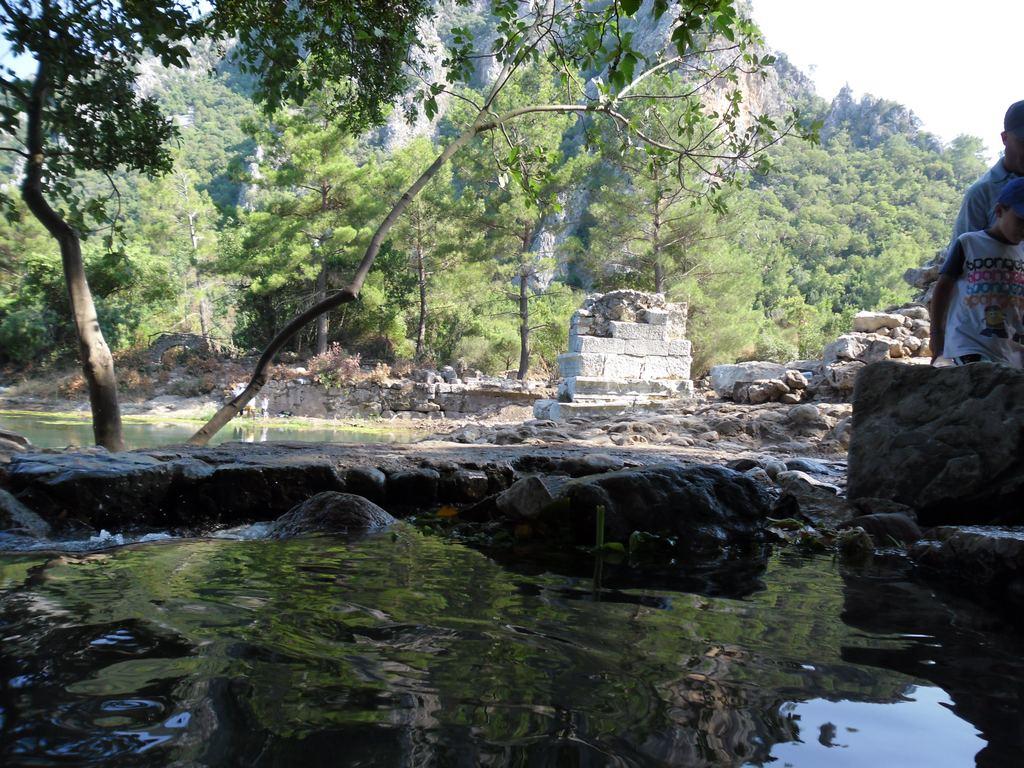 The ancient city of Olympos - 2012, Antalya, Turkey - 43