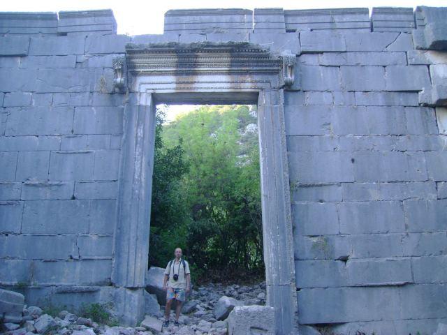 The Roman Temple in Olympos, Antalya, Turkey